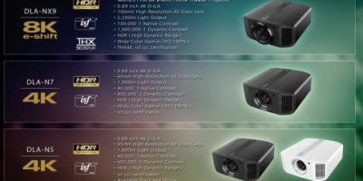 JVC DLA-NX9 - The world's first 8K e-shift home theater projector
