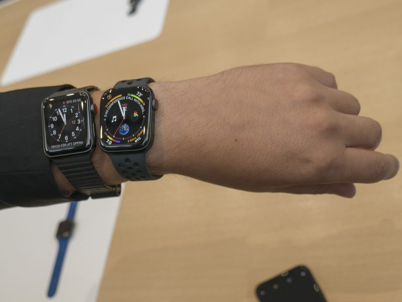 apple watch old and new