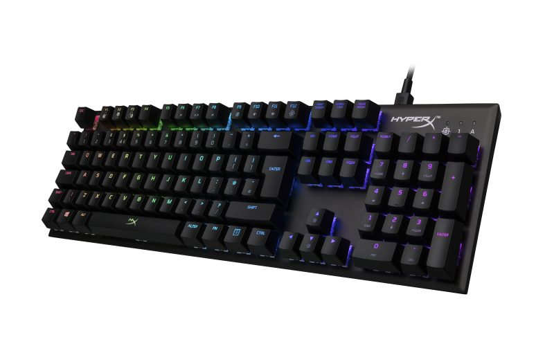 HyperX Announces HyperX Alloy FPS RGB Gaming Keyboard