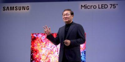 Samsung Modular Micro LED Technology at CES