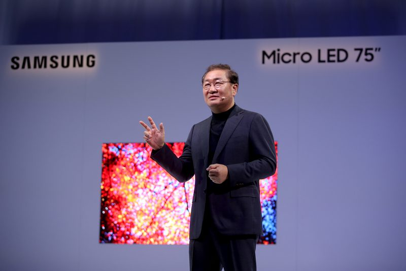 Samsung Modular Micro LED Technology at CES